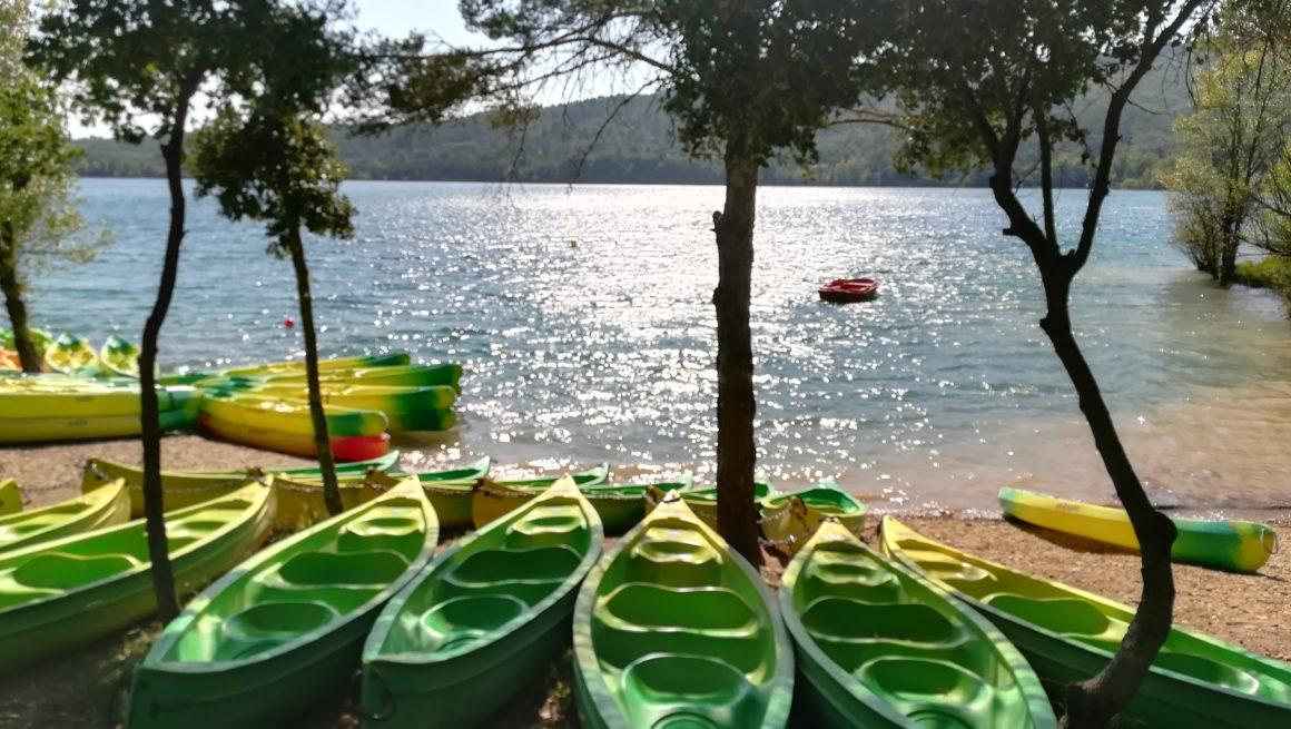 canoe kayak lac de montpezat