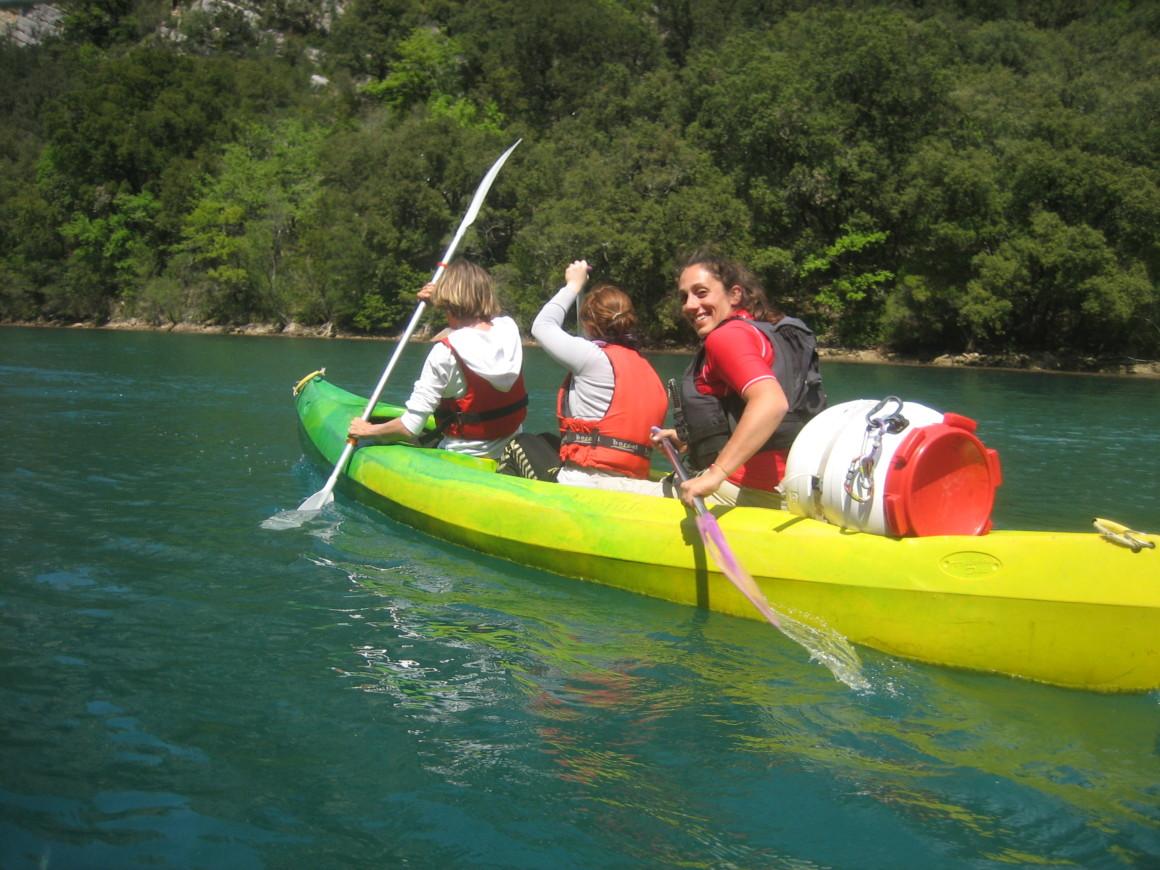 canoe kayak gorges du verdon