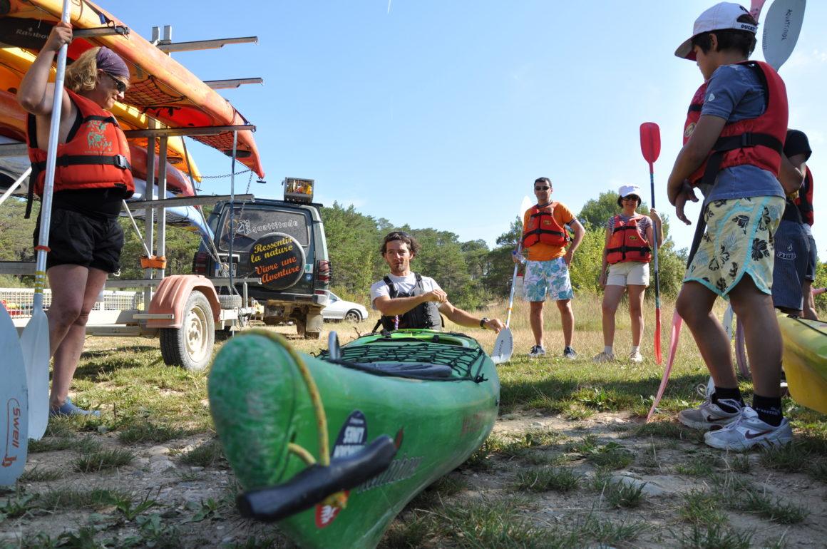 kayak avec guide verdon
