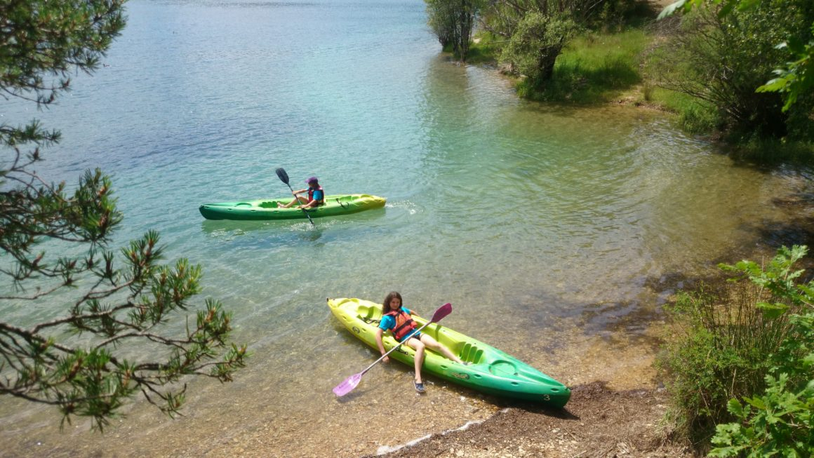 kayak gorges de baudinard