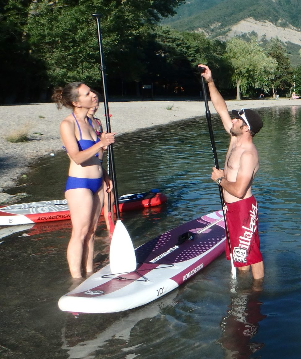 decouverte paddle alpes verdon