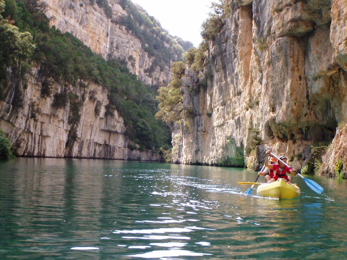 canoe kayak gorges de baudinard